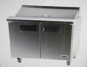 Bison 48 Bst 48 Refrigerated Sandwich Prep Table
