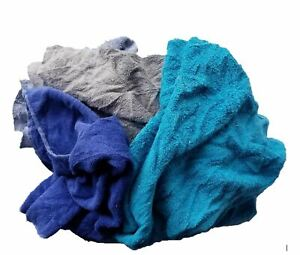 Colored Terry Cloth Rags 5 Lb Box