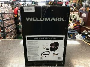 Weldmark Mig Welder Mig25 140 120 V 20 A 60 Hz New In Box Free Shipping