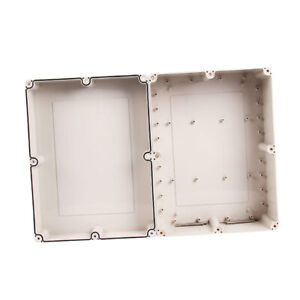Waterproof Abs White Electronics Terminal Junction Box 12 6x9 45x5 51inch