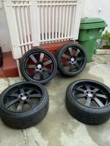 21 Hre 948 Forged 3 Piece Wheels And Tires org 8 000usd