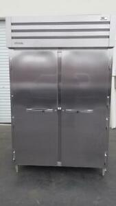 True Str2f 2s 52 Two Section Reach in Freezer Two Solid Door 115v