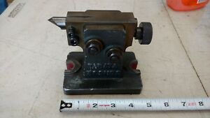 Vintage Tabata B s No 0 4 Tail Stock Accessory For Rotary Table Dividing Head