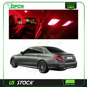 12x Xenon Red Interior Led Package Kit For Lexus Is300 Is350 2012 2017 Lights