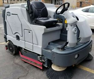 Advance Nilfisk Condor 62xl Rider Floor Scrubber propane Power
