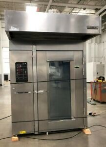 Hobart Hba2g Double Rack Walk In Gas Oven Excellent Conditions