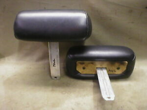 Mustang Headrests Head Rests Seats Interior Short 98 97 96 95 Black Leather Nwl