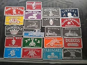 Car Club Plaque Pick 2 Plates For 130 Bucks Shipped Free Shipping Great Deal