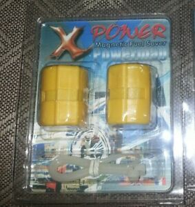 New X Power Magnetic Fuel Saver Set Of 2 Pcs Power Mag