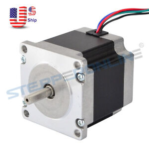 Nema 23 Stepper Motor 1 26nm 179oz in 56mm 4 Wires For Cnc Mill Router Machine