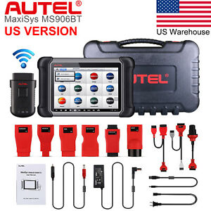 Us Autel Maxisys Ms906bt Auto Diagnostic Scan Tool Bluetooth Code Reader Genuine