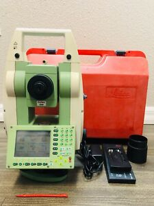 Leica Tcr1201 1 R300 Reflectorless Total Station For Surveying