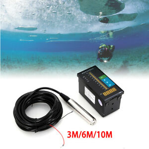 4 20ma Submersible Water Level Transmitter Water Level Measurement Level Sensor