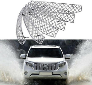 For Toyota Land Cruiser Prado Fj150 10 13 Steel Car Front Grille Bezel Protector