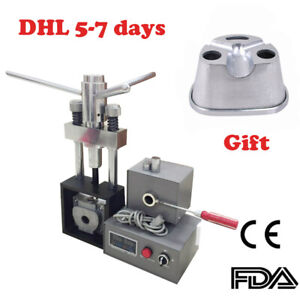 Dental Flexible Denture Injection System Machine Heater Heater Hot Press Flask