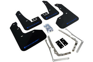 Rally Armor Mud Flaps Blue Logo For 15 17 5 Mkvii Vw Golf R Mf40 Ur Blk Bl
