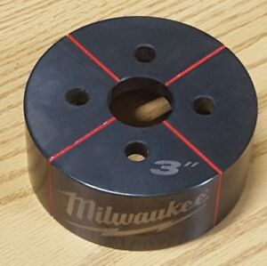 Milwaukee 49 16 2674 Exact 3 In Conduit Knockout Die New Force Logic