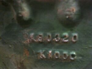 Oliver 88 Gas Row Crop Tractor Engine Block K100g