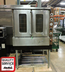 Anets Gp0 Commercial Gas Full Size Single Deck Convection Oven Natural