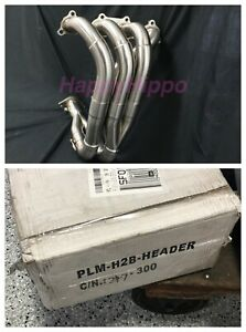 Plm H Series H22 Tri Y Exhaust Header Manifold Honda Civic Prelude Open Box