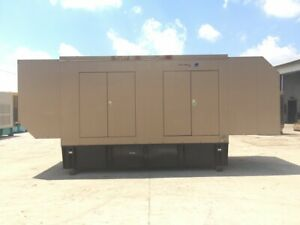 _510 Kw Spectrum detroit Diesel Genset Base Fuel Tank Sound Attenuated 12