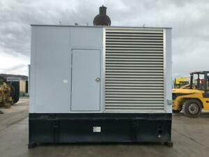 _510 Kw Spectrum detroit Generator Set Base Fuel Tank 12 Lead Reconnectable