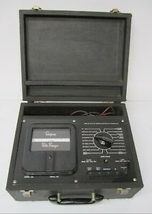 Vtg C1950s Simpson Roto Ranger Model 221 Portable Ohm Meter Tester Vom As Is