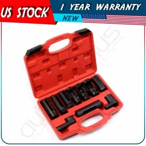 Oil Pressure Sending Units And Injectors 10 Pcs Sensor Socket Set Removal