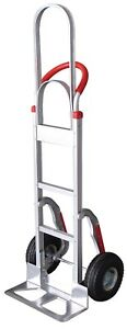Tyke Supply Aluminum Stair Climber Hand Truck W Tall Handle Hs 3 Solid Tires