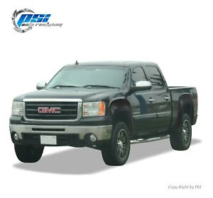 Paintable Oe Style Fender Flares Fits Gmc Sierra 1500 2007 2013 5 8 Ft Bed Only
