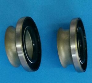 Yms470682 Pair Yukon Mighty Axle Seal Front Inner Ford Dodge Chevy Dana 60