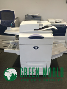 Xerox Workcentre 7775 Multifunction With Advanced Finisher 75ppm Low Meter 386k
