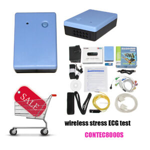 Contec8000s 12 Lead Stress Ecg Analysis System exercise Equipment software hot