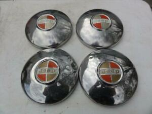 4 Vintage Jeep Hubcaps Wagoneer Cj Jeepster Wheel Covers