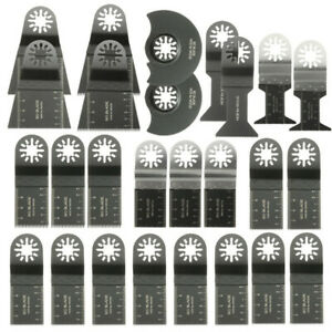 26pcs Mixed Blades Multitool Saw Blade Accessories For Fein Multimaster Bosch Ma