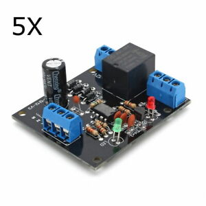 5pcs 12v Dc Water Level Switch Sensor Controller Water Tank Tower Automatic Drai