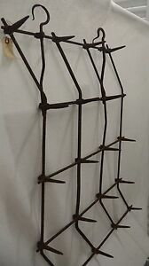 Antique French Tine Harrow Late 1700 S