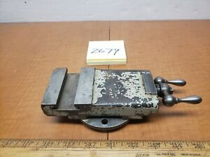 Antique Dalton Metal Lathe 8 Compound Slide toolrest 1910s Vtg