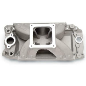 Edelbrock Intake Manifold 29270 Super Victor 9 800 Satin For Chevy 454 Bbc