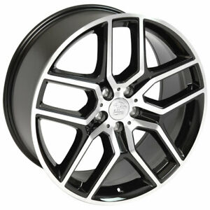 Black Machined Face Wheel 20x9 Explorer Style For 2005 2007 Ford Freestyle