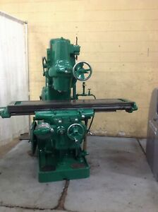 3h Kearney Trecker Vertical Mill Yoder 65065