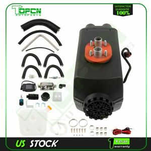 Power 8kw Air Diesel Heater Lcd Thermostat Low Noise For Trucks Boat Car Vans
