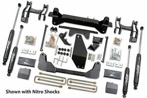 Zone Offroad 6 Inch Suspension Lift Kit 1988 98 Chevy 1500 Pickup 4wd