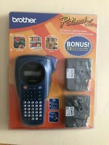 New Brother P touch 1000 Label Maker Model Pt 1000 Thermal Printer W bonus Tape