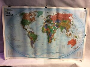 The World By National Geographic Maps 9780792250029 Sheet Map 2005