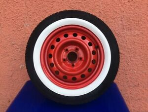 14 Inch Classic American Style Low Profile 1 5 Side Wall White Wall Tire Trim