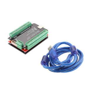 New Usb 3 Axis Cnc Motion Control Card Breakout Board Support Mach3 Software