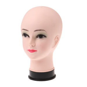 10 Inches Pvc Head Manikin Model Glasses Wig Mannequin Stand Store Display