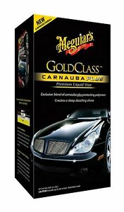 Meguiar S G7016 Gold Class Carnauba Plus Premium Liquid Wax 16 Oz