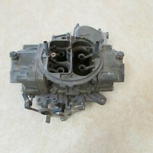 Holley 950 Cfm 3 Barrel Carburetor 1968 Mopar 440 Ci List 3916 1s Dated 834